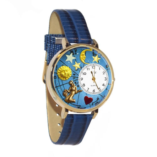 Virgo Watch in Gold (Large)