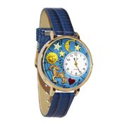 Capricorn Watch in Gold (Large)