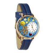Gemini Watch in Gold (Large)
