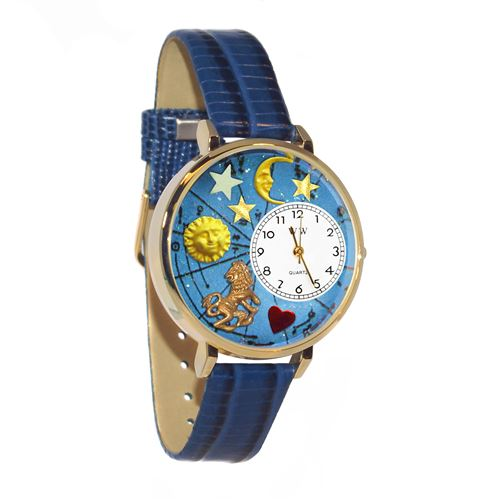 Leo Watch in Gold (Large)