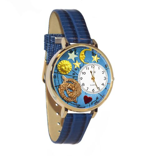 Pisces Watch in Gold (Large)