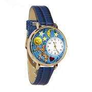 Sagittarius Watch in Gold (Large)