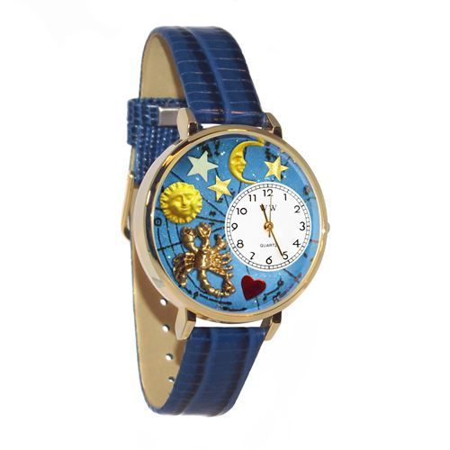 Scorpio Watch in Gold (Large)