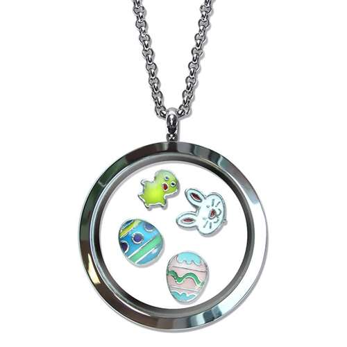 Easter Floating Locket
