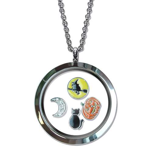 Halloween Floating Locket