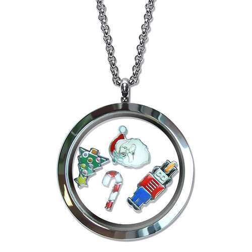 Christmas Floating Locket