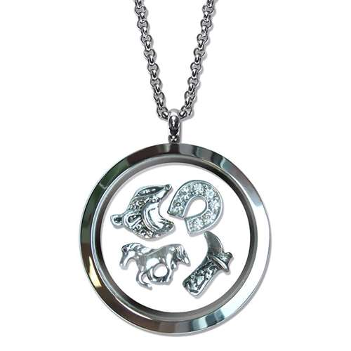 Horse Lover Floating Locket