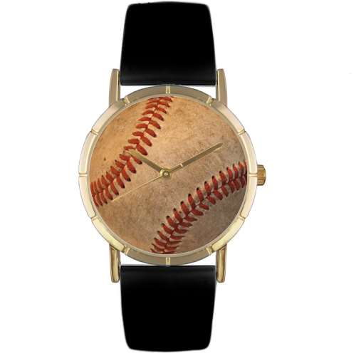 Baseball Lover Watch Small Gold Style
