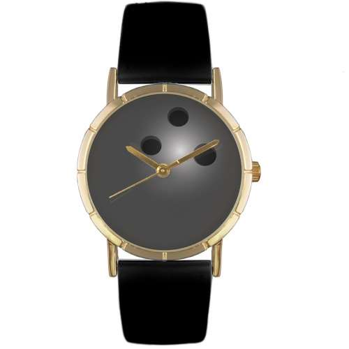 Bowling Lover Watch Small Gold Style