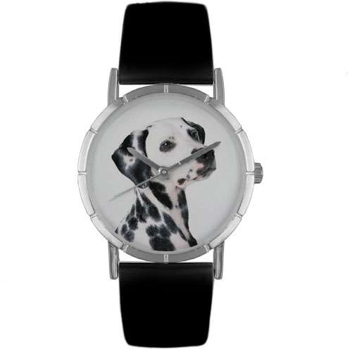 Dalmatian Print Watch in Silver Small