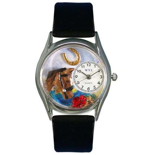 Horse Head Watch Small Silver Style