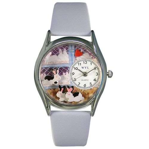Bunny Rabbit Watch Small Silver Style