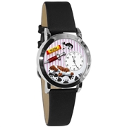 Veterinarian Watch Small Silver Style
