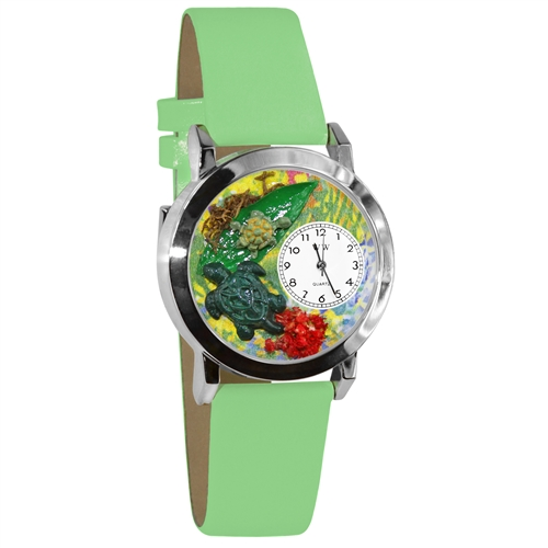 Turtles Watch Small Silver Style