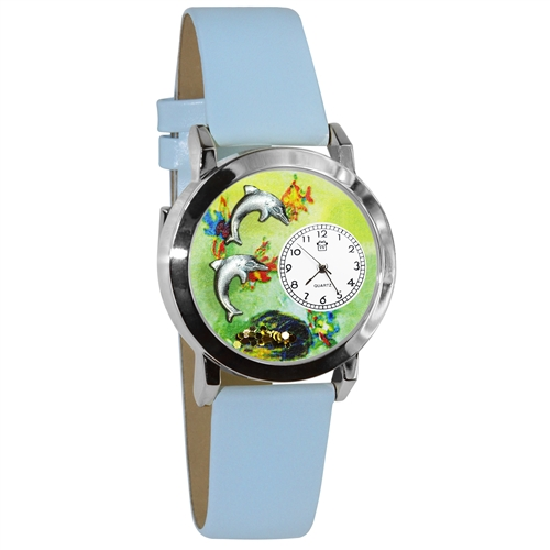 Dolphin Watch Small Silver Style