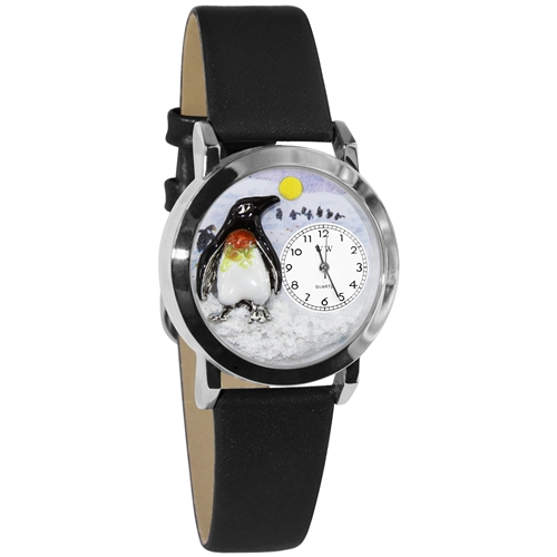 Penguin Watch Small Silver Style