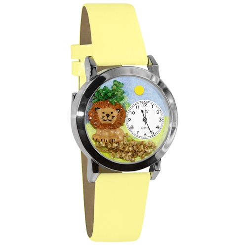 Lion Watch Small Silver Style