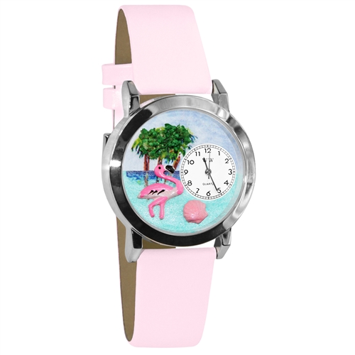 Flamingo Watch Small Silver Style