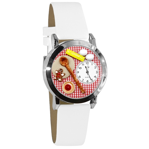 Baking Watch Small Silver Style