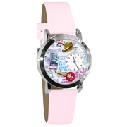 Teen Girl Watch Small Silver Style
