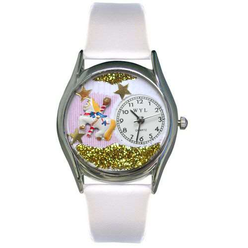 Carousel Watch Small Silver Style