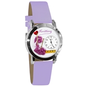 Knitting Watch Small Silver Style