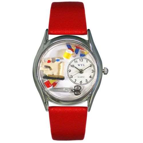 Quilting Watch Small Silver Style