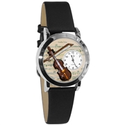 Violin Watch Small Silver Style