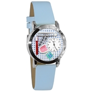 Dentist Watch Small Silver Style