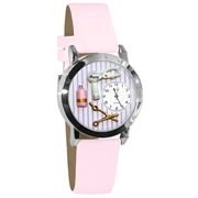 Beautician Female Watch Small Silver Style