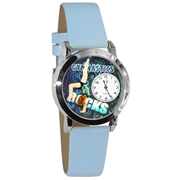 Gymnastics Watch Small Silver Style