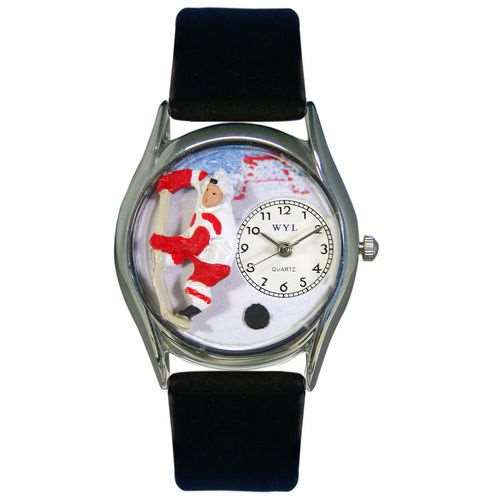 Hockey Watch Small Silver Style
