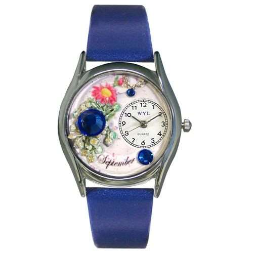 Birthstone Jewelry: September Birthstone Watch Small Silver Style