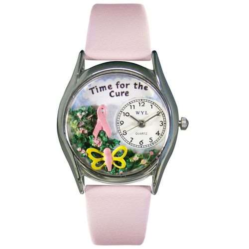 Time for the Cure Small Silver Watch