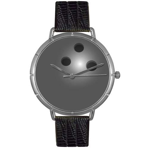 Bowling Lover Watch Large Silver Style