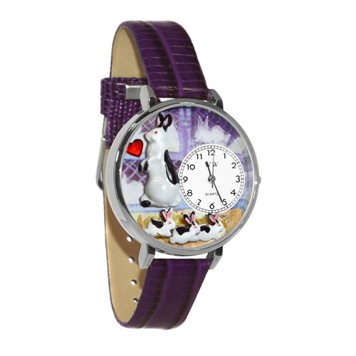 Bunny Rabbit Watch in Silver (Large)