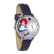 Raggedy Ann Watch in Silver (Large)