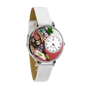Sushi Watch in Silver (Large)