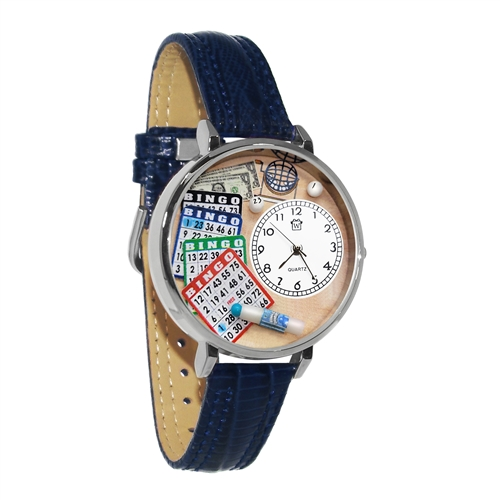 Bingo Watch in Silver (Large)