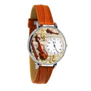 Violin Watch in Silver (Large)