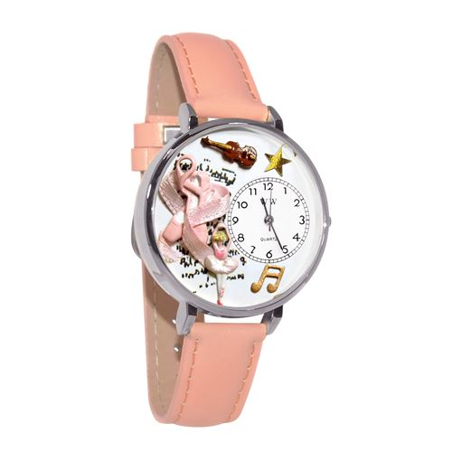 Ballet Shoes Watch in Silver (Large)