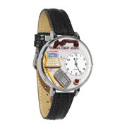 Accountant Watch in Silver (Large)
