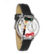 Opthamologist Watch in Silver (Large)