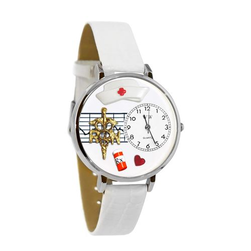 RN Watch in Silver (Large)