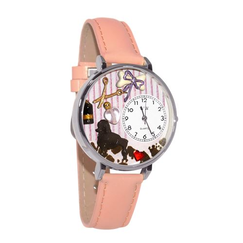 Dog Groomer Watch in Silver (Large)