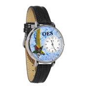 Order of the Eastern Star Watch in Silver (Large)