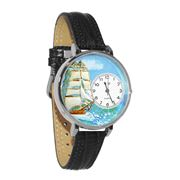 Sailing Watch in Silver (Large)