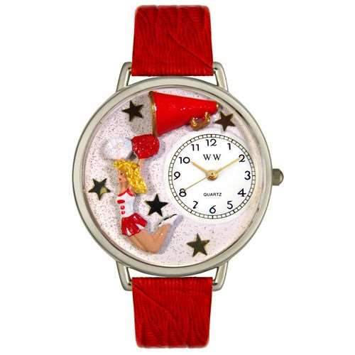 Cheerleader Watch in Silver (Large)
