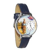 England Watch in Silver (Large)