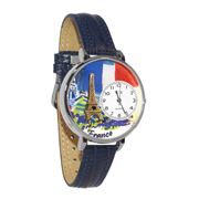 France Watch in Silver (Large)